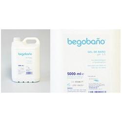 Gel Begobaño Uso Hospitalario | PH Neutro | Tres envases de 5 litros | Diresa Device - FedBuy